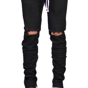 8ddb78a26a4 hyper denim Jeans - Black Nate Zipper Pant